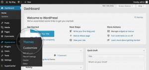 WordPress - админ дел за теми
